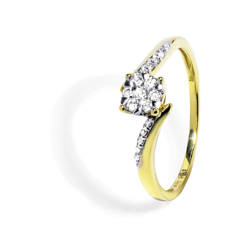 b4a11fd2e Vynímočný diamantový prsteň 0,20 ct - Radovan Blaško - Zlatníctvo ...