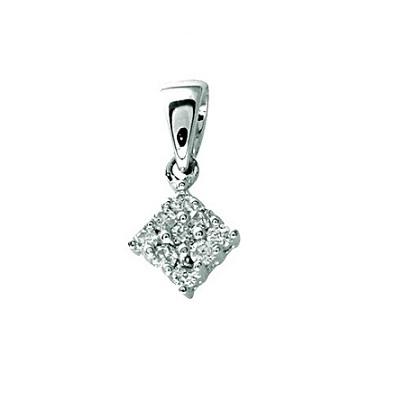 Zaujímavý diamantový prívesok
