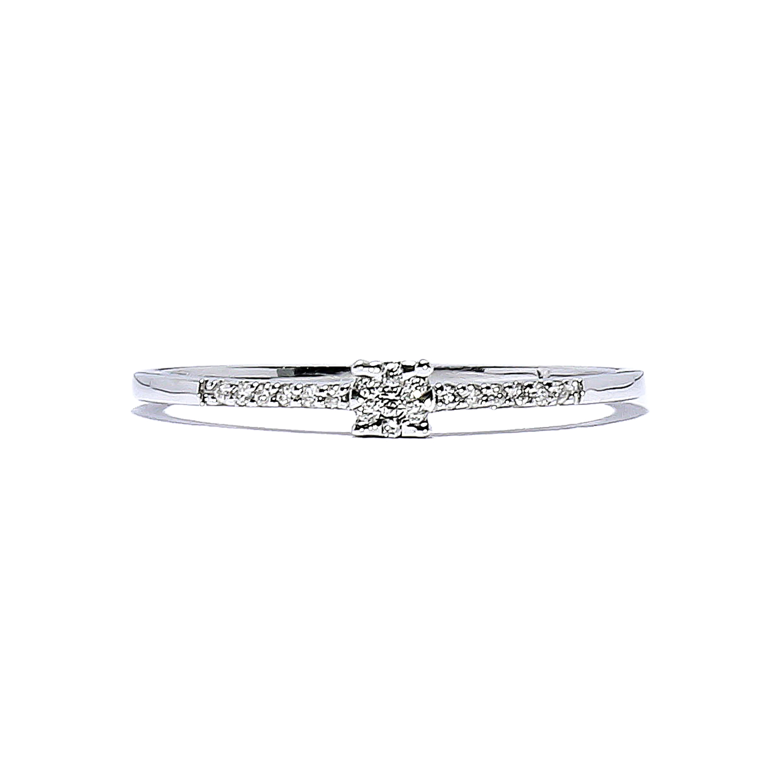 afed6f759 Jemný zlatý prsteň s diamantmi 0,07 ct - Radovan Blaško - Zlatníctvo ...