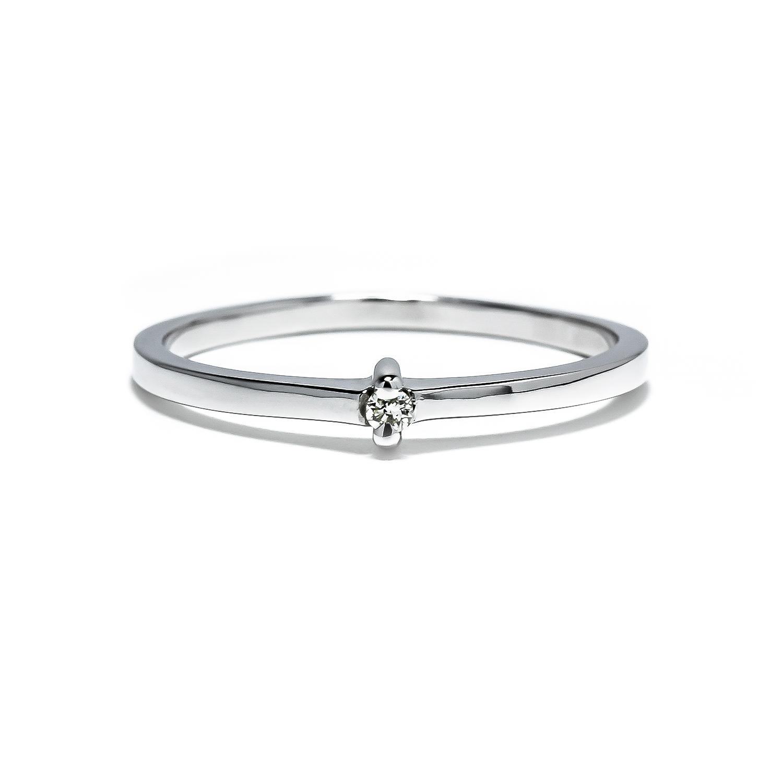 3f9606f76 Jemný prsteň s diamantom 0,02 ct - Radovan Blaško - Zlatníctvo ...