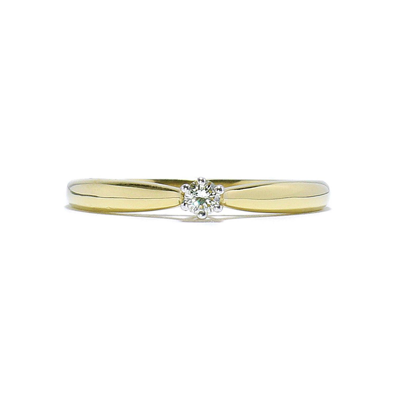 2d6d28324 Jemný prsteň s diamantom 0,08 ct - Radovan Blaško - Zlatníctvo ...