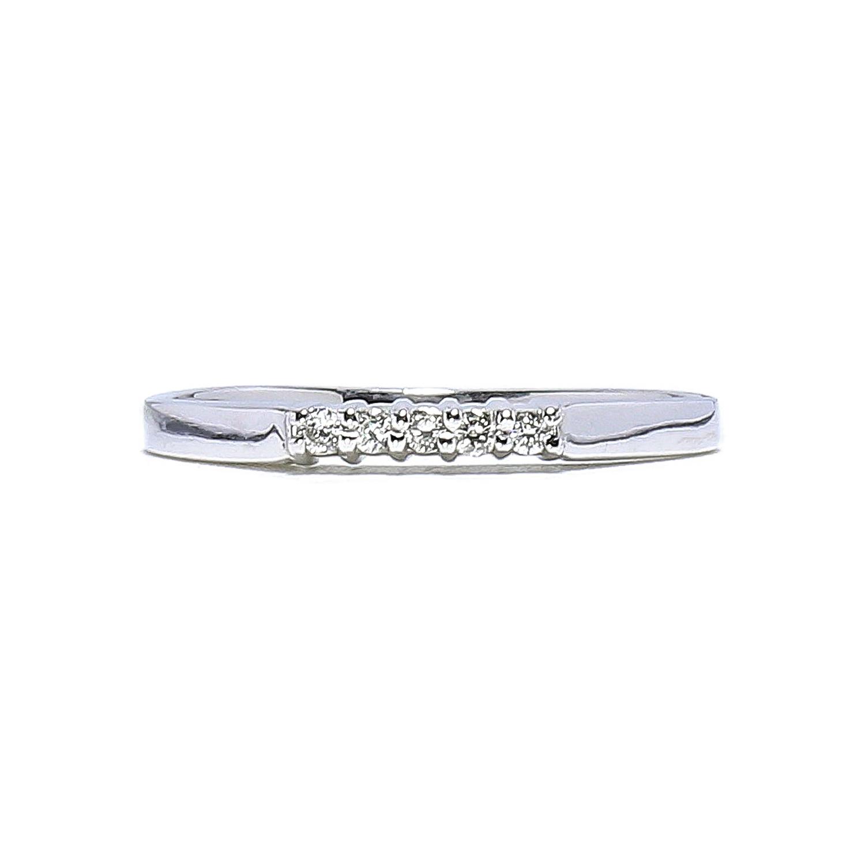 d6a023319 Jemný diamantový prsteň z bieleho zlata 0,05 ct - Radovan Blaško ...