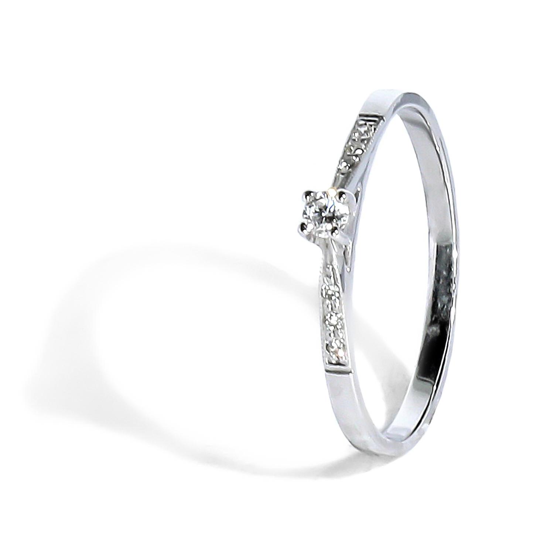 3860ed521 Romantický diamantový prsteň 0.03 ct - Radovan Blaško - Zlatníctvo ...