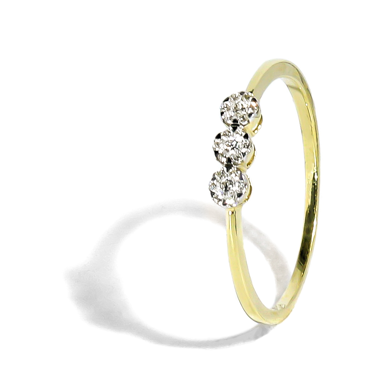 3f82c10d8 Elegantný diamantový prsteň 0,08 ct - Radovan Blaško - Zlatníctvo ...