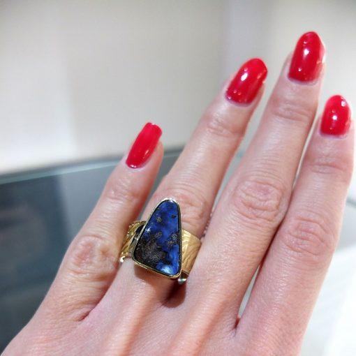 Netradičný prsteň s Opálom