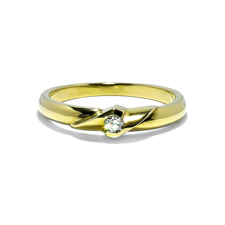 Vintage diamantový zásnubný prsteň 0 0538632934f