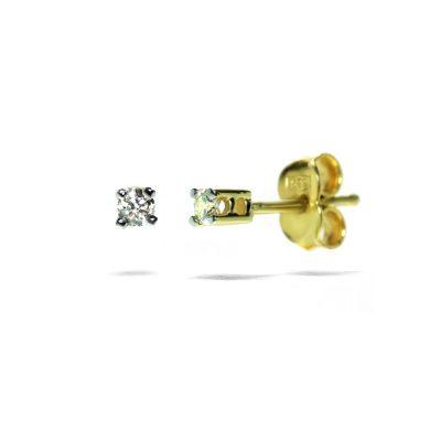 napichovacie-nausnice-diamant-zlte-zlato