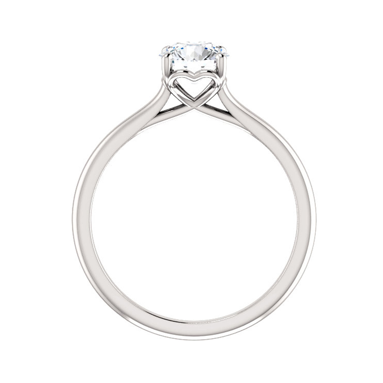 Diamantový prsteň hladký s diamantomDiamantový prsteň hladký s diamantom