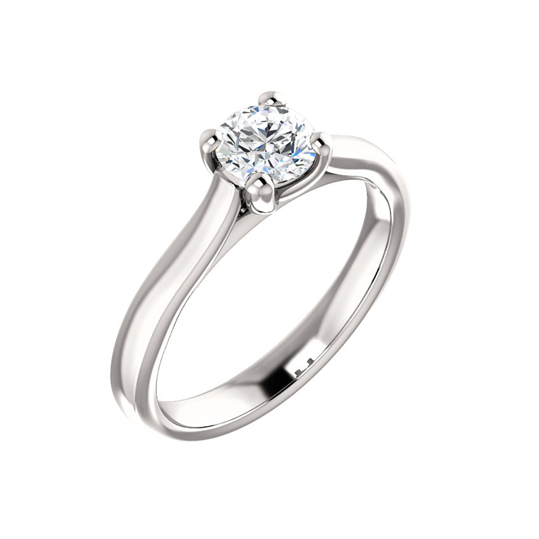 Jedinečný prsteň s nádherným diamantom