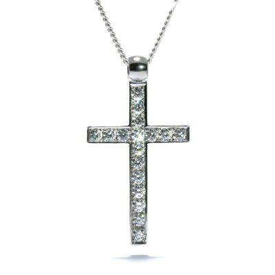 Luxusný diamantový prívesok