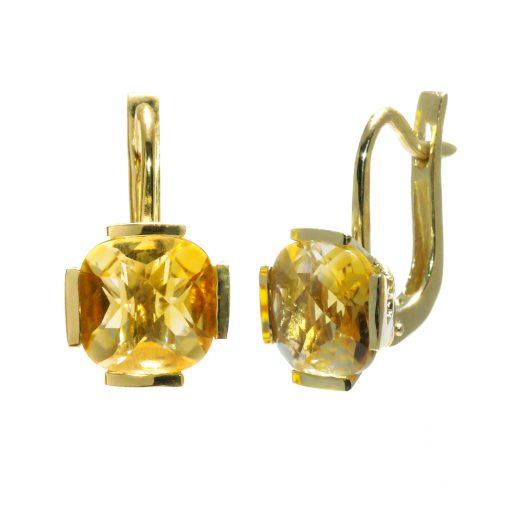 zlte-zlato-nausnice-citrin