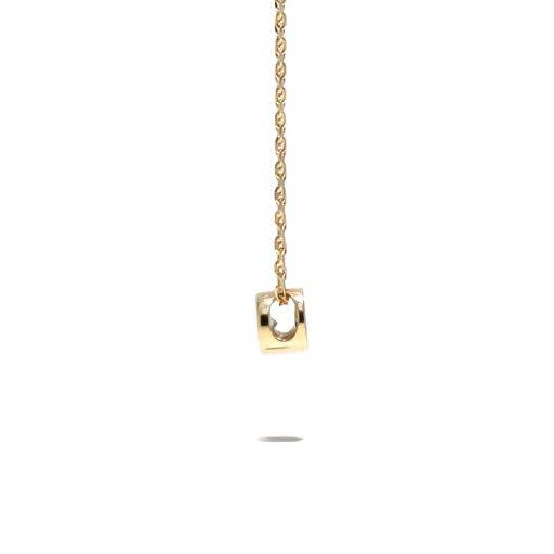 Diamantový prívesok s ružového zlata
