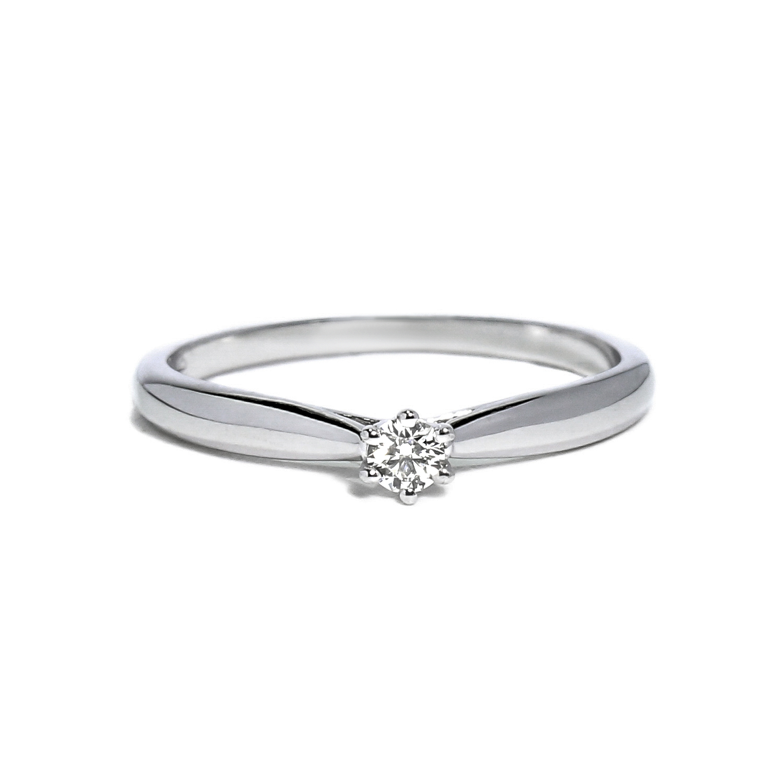 afa65b091 Jemný prsteň s diamantom 0,10ct - Radovan Blaško - Zlatníctvo Poprad ...