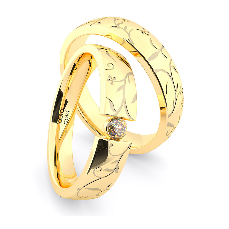 svadoné-obrucky-zlte-zlato-s-kamenom