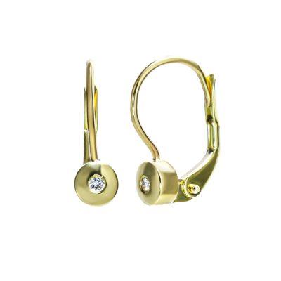diamantove-nausnice-na-patent-zlte-zlato