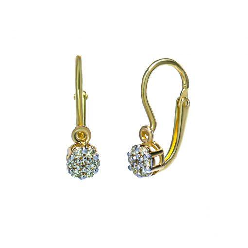 nausnice-zlte-zlato-detske-diamant