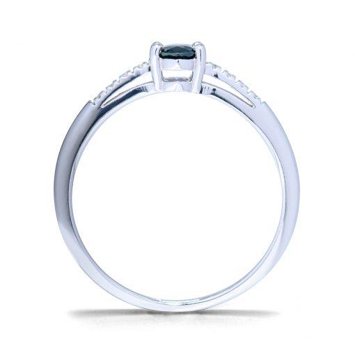 Diamantový-prsteň-so-Zafírom