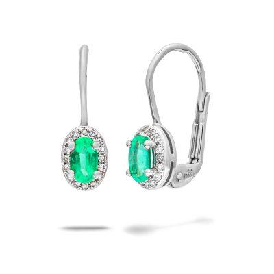 Diamantove-nausnice-so-smaragdom-biele-zlato