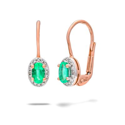 Diamantove-nausnice-so-smaragdom-ruzove-zlato