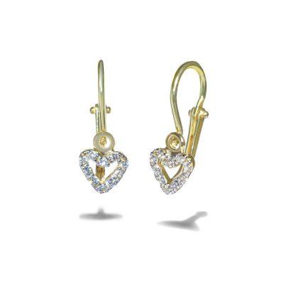Dievcenske-nausnice-diamant-zlte-zlato