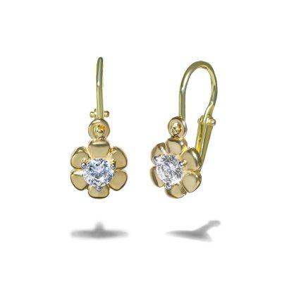 Nausnice-pre-babetka-diamant-zlte-zlato