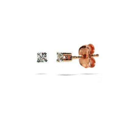 napichovacie-nausnice-diamant-ruzove-zlato
