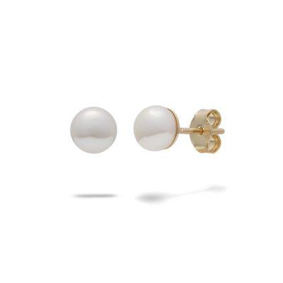 napichovacie-nausnice-zlte-zlato-perla