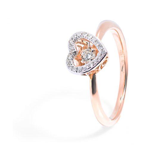 zasnubny-prsten-ruzove-zlato-diamant-srdiecko