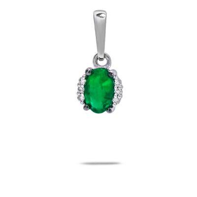 smaragdovy-privesok-diamant-biele-zlato