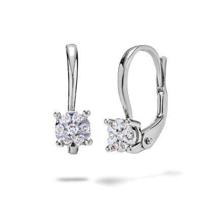 Diamantové-náušnice-z-bieleho-zlata-0,13ct