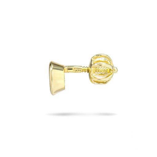 Jemné diamantové náušnice na balónik 0,22ct