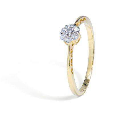 Zásnubný-diamantový-prsteň-žlté-zlato-15202TPI