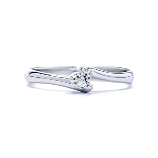 Zaujímavý-diamantový-prsteň-z-bieleho-zlata-0.056ct